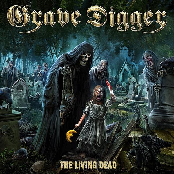 GRAVE DIGGER / グレイヴ・ディガー / THE LIVING DEAD<DIGI>
