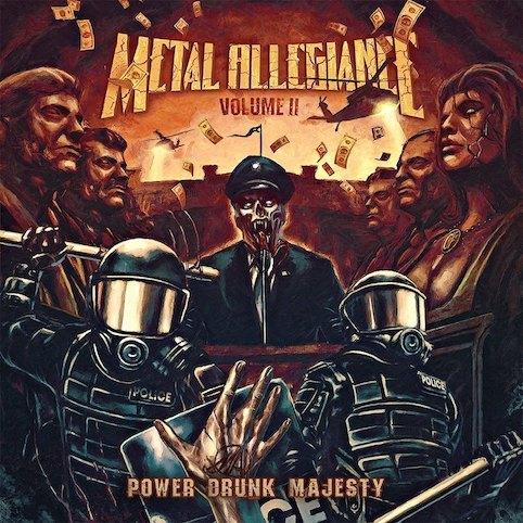 METAL ALLEGIANCE(ALEX SKOLNICK/DAVID ELLEFSON/MIKE PORTNOY) / メタル・アリージェンス(アレックス・スコルニック/デイヴ・エレフソン/マイク・ポートノイ) / VOLUME II: POWER DRUNK MAJESTY