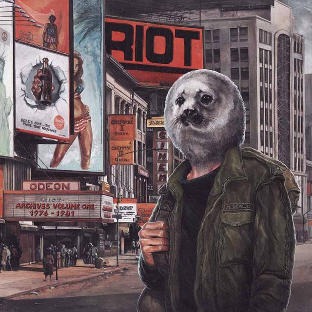 RIOT / ライオット / ARCHIVES VOLUME 1: 1976-1981<CD+DVD/SLIPCASE>