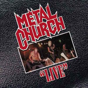 METAL CHURCH / メタル・チャーチ / LIVE<BLACK VINYL>