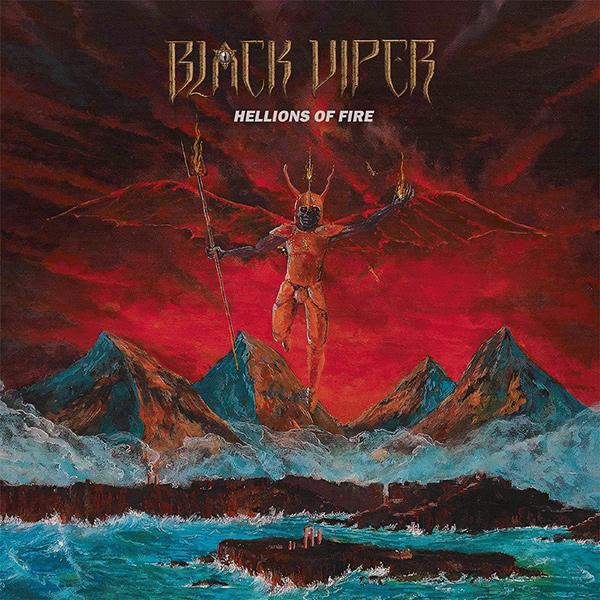 BLACK VIPER / HELLIONS OF FIRE<SLIPCASE>