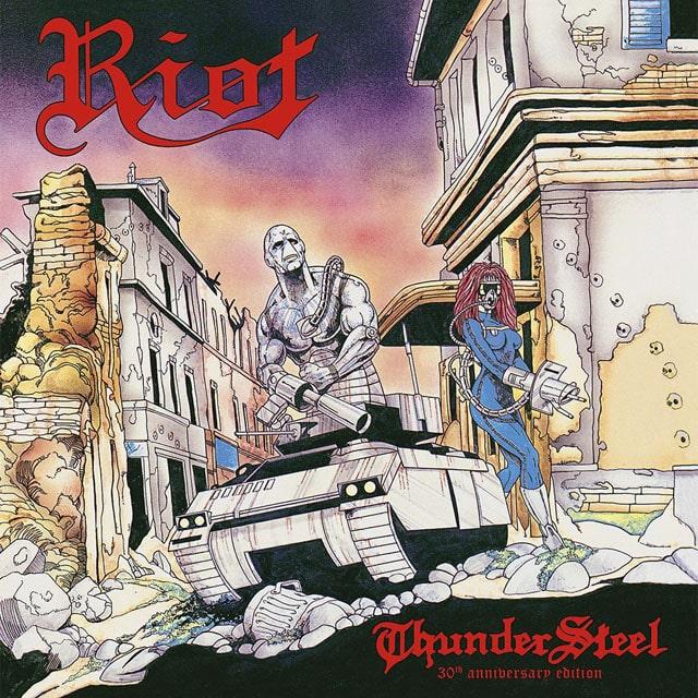 RIOT / ライオット / THUNDERSTEEL-30TH ANNIVERSARY EDITION<CD+DVD/DIGI>