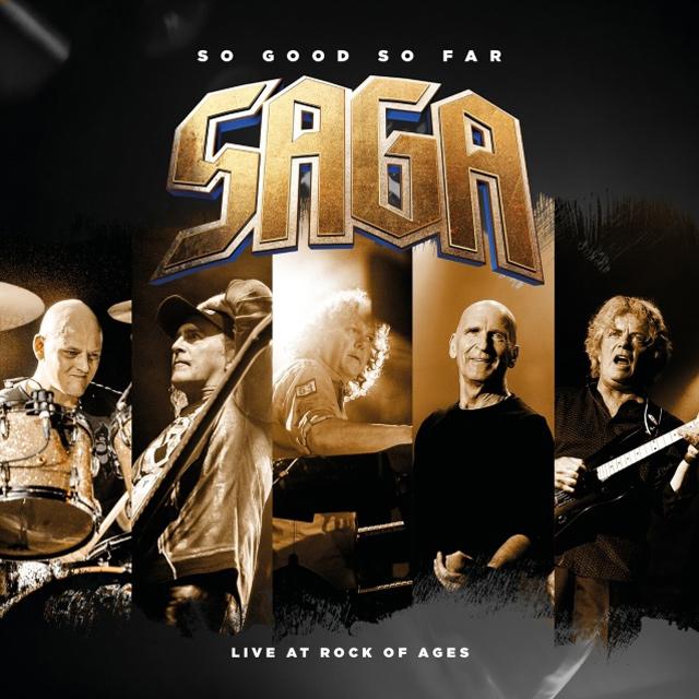 SAGA / サーガ / SO GOOD SO FAR ? LIVE AT ROCK OF AGES<2CD+DVD/DIGI>