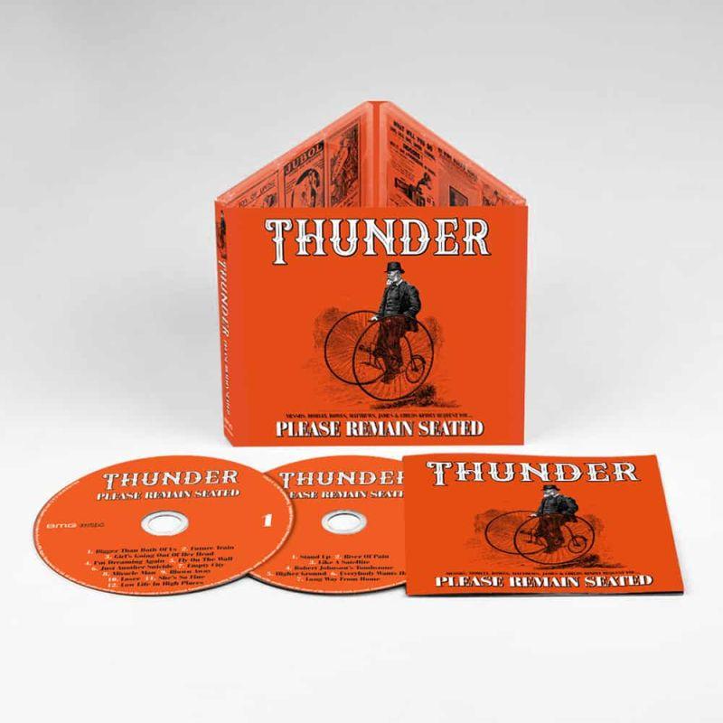 THUNDER (from UK) / サンダー / PLEASE REMAIN SEATED<2CD/DIGI>