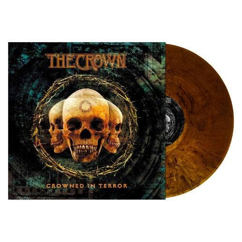 THE CROWN / ザ・クラウン / CROWNED IN TERROR<ORANGE/BROWN MARBLE VINYL>