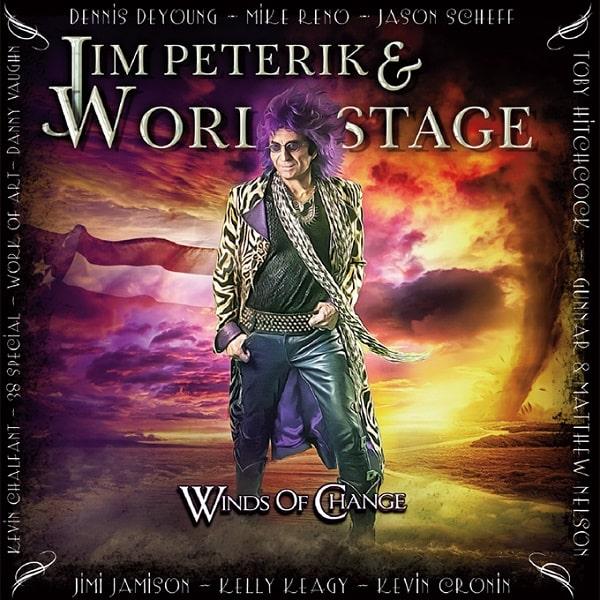 JIM PETERIK & WORLD STAGE / ジム・ピートリック&ワールド・ステージ / WINDS OF CHANGE  / ウィンズ・オヴ・チェンジ