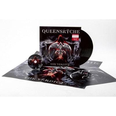 QUEENSRYCHE / クイーンズライク / THE VERDICT<LP+CD & Poster/BLACK VINYL>