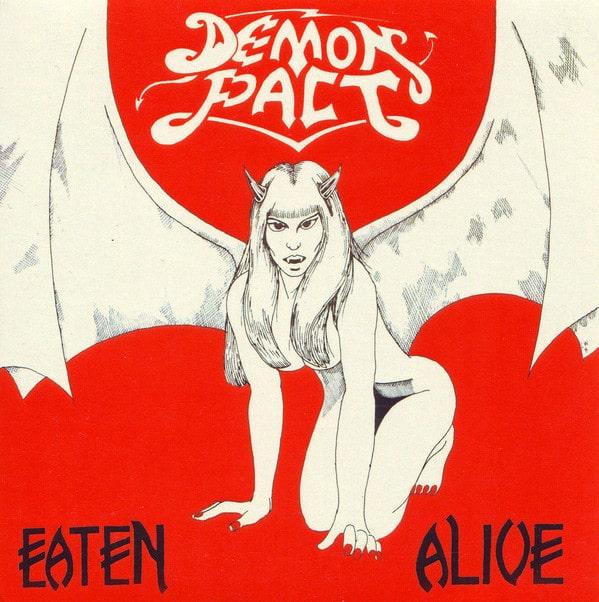 "DEMON PACT / EATEN ALIVE<7"">"