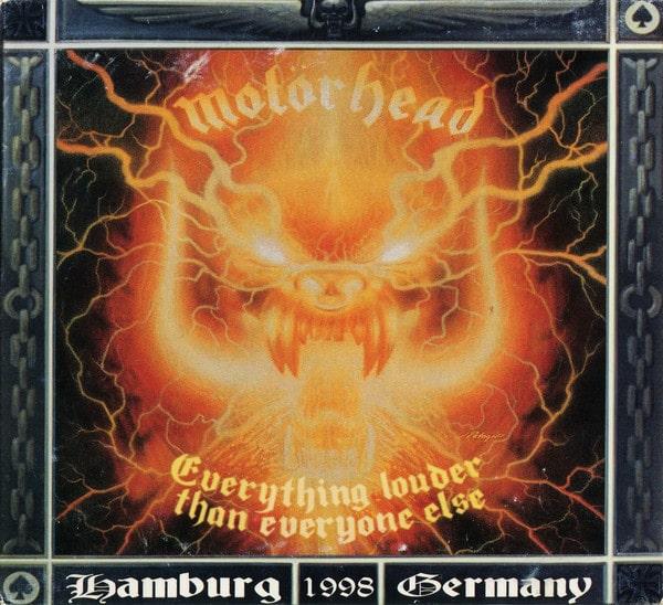 MOTORHEAD / モーターヘッド / EVERYTHING LOUDER THAN EVERYONE ELSE<2CD>