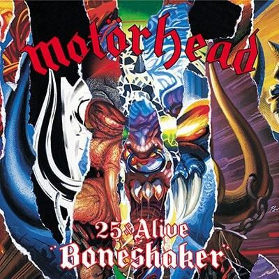MOTORHEAD / モーターヘッド / 25 & ALIVE BONESHAKER<CD+DVD>