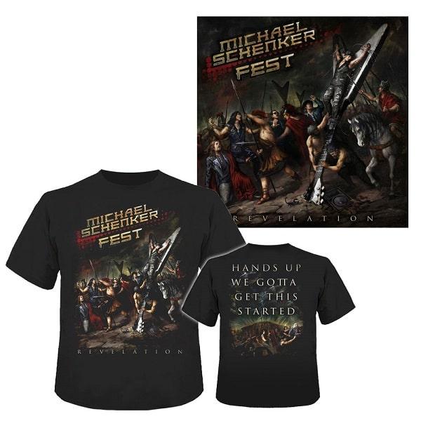 MICHAEL SCHENKER FEST / マイケル・シェンカー・フェスト / REVELATION / レヴェレイション<完全生産限定CD+Tシャツ:Lサイズ/日本語解説書封入>
