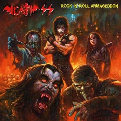 DEATH SS / ROCK'N'ROLL ARMAGEDDON<NEON MAGENTA VINYL>