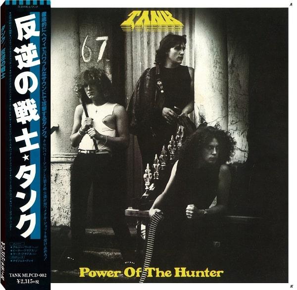 TANK(ORIGINAL) / タンク / POWER OF THE HUNTER / 反逆の戦士<紙ジャケット>