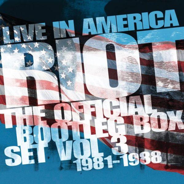 RIOT (RIOT V) / ライオット / LIVE IN AMERICA THE OFFICIAL BOOTLEG BOX SET VOL. 3 1981-1988<6CD>