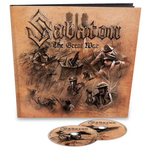 SABATON / サバトン / THE GREAT WAR(EARBOOK)<2CD/DIGI>