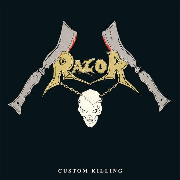 RAZOR / レイザー / CUSTOM KILLING<SLIPCASE>