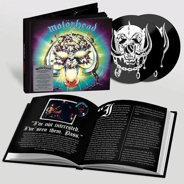 MOTORHEAD / モーターヘッド / OVERKILL (40TH ANNIVERSARY EDITION)<2CD/BOOK PACK>