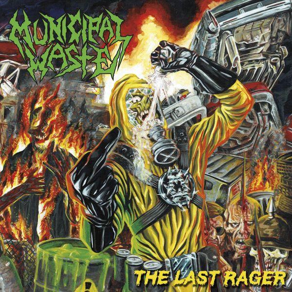 MUNICIPAL WASTE / ミュニシパル・ウェイスト / THE LAST RAGER<EP/BLACK VINYL>