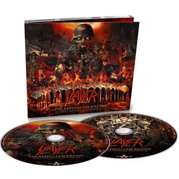 SLAYER / スレイヤー / THE REPENTLESS KILLOGY, LIVE・・・<2CD/DIGI>