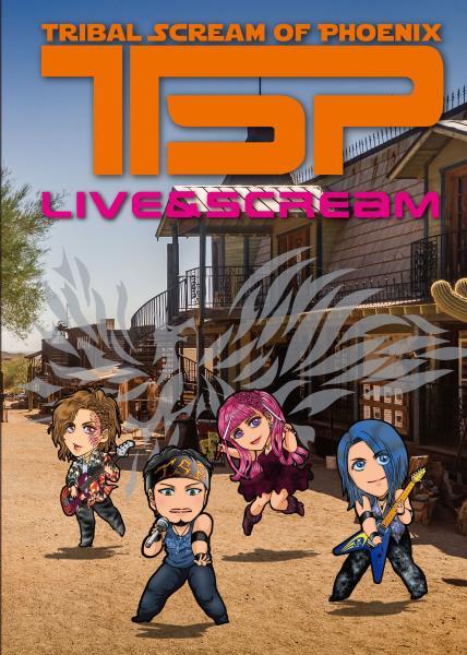 TSP / ティー・エス・ピー / LIVE & SCREAM / ライヴ・アンド・スクリーム