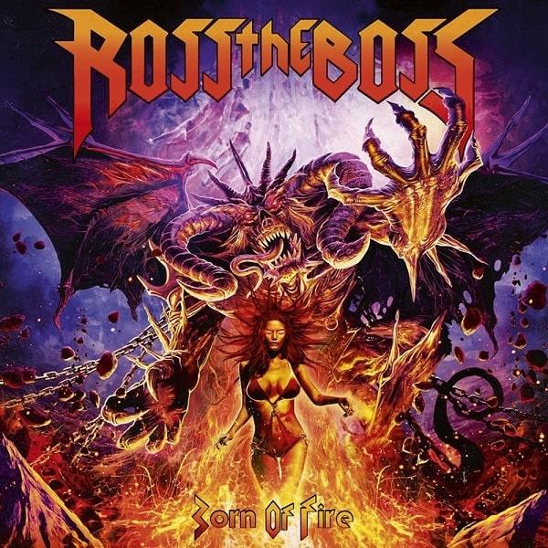 ROSS THE BOSS / BORN OF FIRE<DIGI>