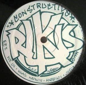 CONSTRUCTIVE RUKUS / CONSTRUCTIVE RUKUS EP