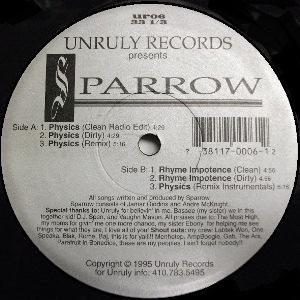 SPARROW THE MOVEMENT / PHYSICS - US ORIGINAL PRESS -