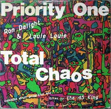 PRIORITY ONE / TOTAL CHAOS - US ORIGINAL PRESS -