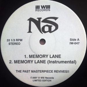 NAS / ナズ / MEMORY LANE