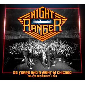 NIGHT RANGER / ナイト・レンジャー / 35 YEARS AND A NIGHT IN CHICAGO  / 35周年記念ライヴ・イン・シカゴ2016<2CD>