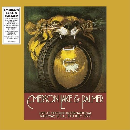 EMERSON, LAKE & PALMER / エマーソン・レイク&パーマー / LIVE AT POCONO INTERNATIONAL RACEWAY, LONG POND, PA, U.S.A., 8TH JULY 1972 [COLORED 2LP]