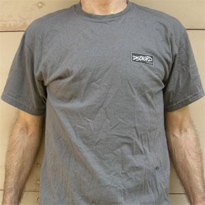 DISCHORD OFFICIAL GOODS / DISCHORD BOX LOGO Tシャツ CHARCOAL (Sサイズ)