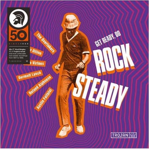 "V.A. / GET READY, DO ROCK STEADY: THE 7"" VINYL BOX SET [10X7""]"