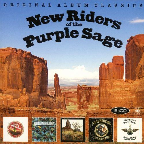 NEW RIDERS OF THE PURPLE SAGE / ニュー・ライダーズ・オブ・ザ・パープル・セージ / ORIGINAL ALBUM CLASSICS (5CD)