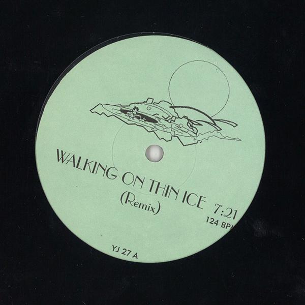 "YOKO ONO / ヨーコ・オノ / WALKING ON THIN ICE (12"")"