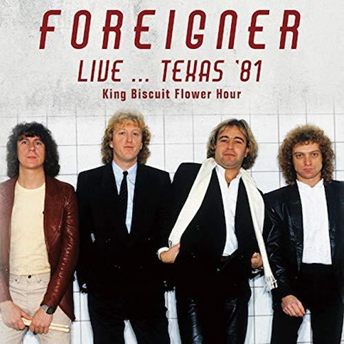 FOREIGNER / フォリナー / LIVE...TEXAS' 81