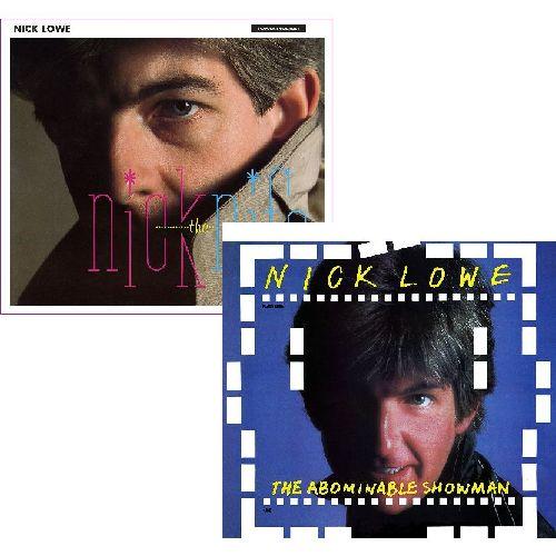 """NICK LOWE / ニック・ロウ / LP+7"""" 2タイトルまとめ買いセット"""