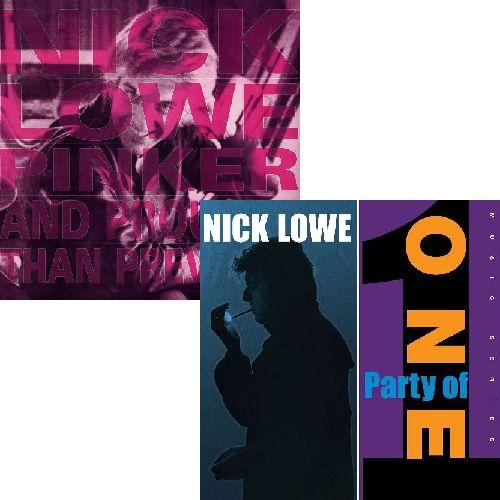 NICK LOWE / ニック・ロウ / CD 2タイトルまとめ買いセット