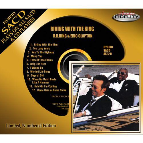 B.B. KING & ERIC CLAPTON / B.B.キング&エリック・クラプトン / RIDING WITH THE KING (HYBRID SACD)