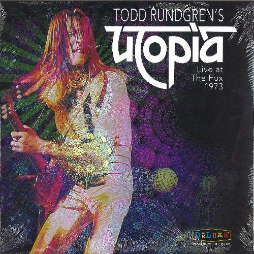 TODD RUNDGREN (& UTOPIA) / トッド・ラングレン (&ユートピア) / TODD RUNGREN'S UTOPIA LIVE AT THE FOX THEATER 1973 [2LP]
