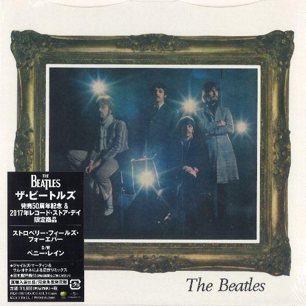 """BEATLES / ビートルズ / ストロベリー・フィールズ・フォーエバー / ペニー・レイン [7""""]"""