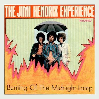 "JIMI HENDRIX (JIMI HENDRIX EXPERIENCE) / ジミ・ヘンドリックス (ジミ・ヘンドリックス・エクスペリエンス) / BURNING OF THE MIDNIGHT LAMP [COLORED 7""]"