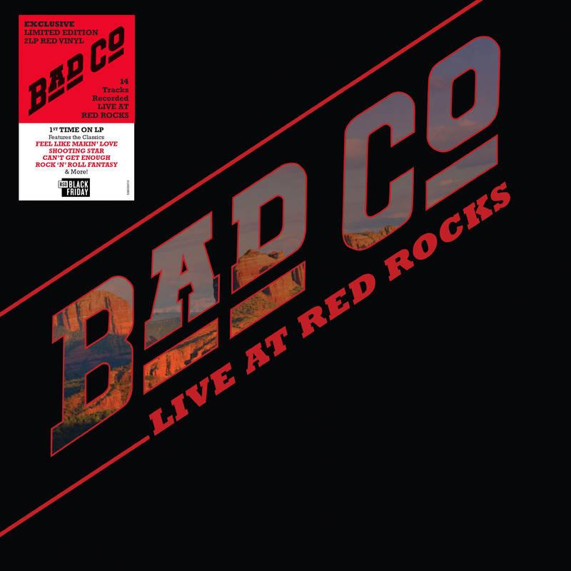 BAD COMPANY / バッド・カンパニー / LIVE AT RED ROCKS [COLORED 2LP]