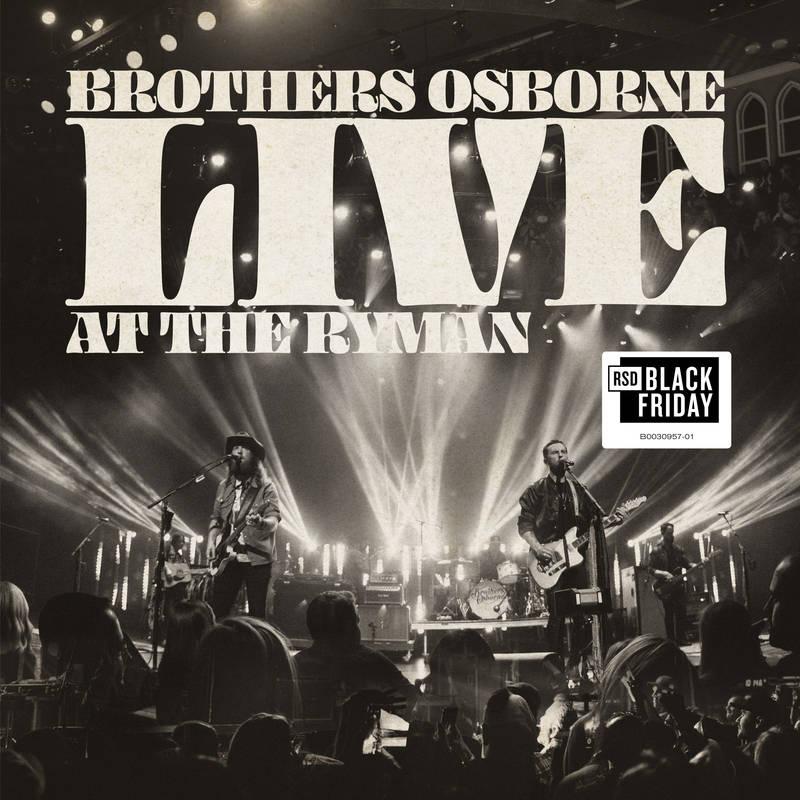 BROTHERS OSBORNE / LIVE AT THE RYMAN [2LP]