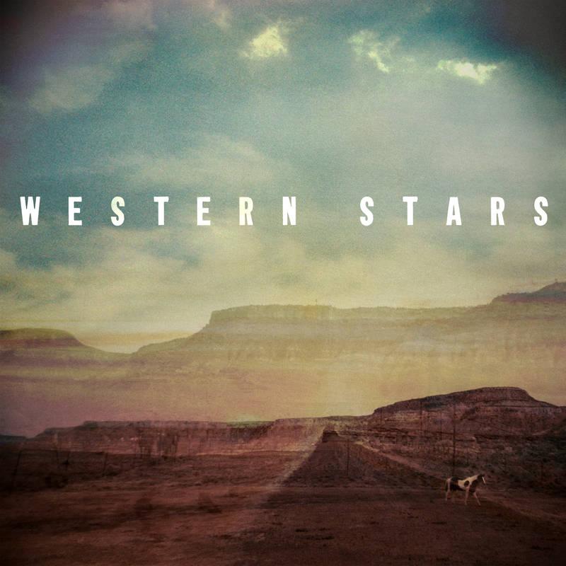 "BRUCE SPRINGSTEEN / ブルース・スプリングスティーン / WESTERN STARS [COLORED 7""]"