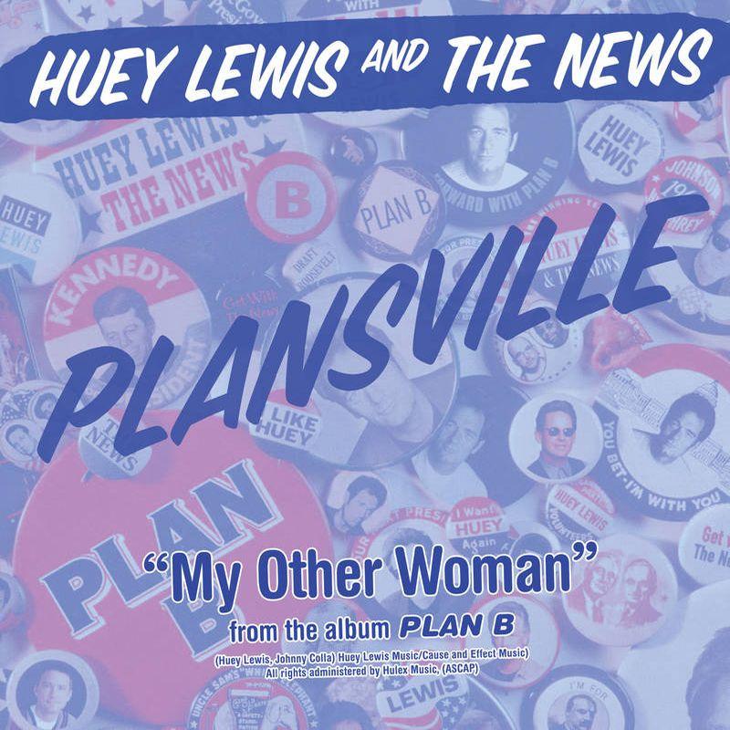 "HUEY LEWIS & THE NEWS / ヒューイ・ルイス・アンド・ザ・ニュース / PLANSVILLE [7""]"