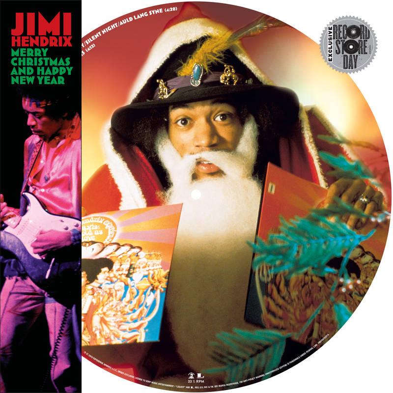 "JIMI HENDRIX (JIMI HENDRIX EXPERIENCE) / ジミ・ヘンドリックス (ジミ・ヘンドリックス・エクスペリエンス) / MERRY CHRISTMAS AND HAPPY NEW YEAR [PICTURE DISC 12""]"