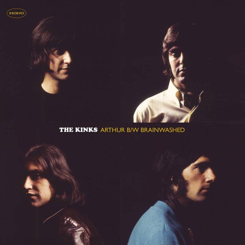 """KINKS / キンクス / ARTHUR [COLORED 7""""]"""