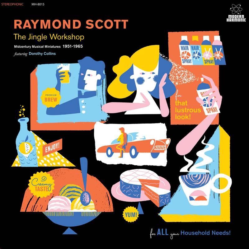 RAYMOND SCOTT / THE JINGLE WORKSHOP: MIDCENTURY MUSICAL MINIATURES 1951-1965 [2LP]