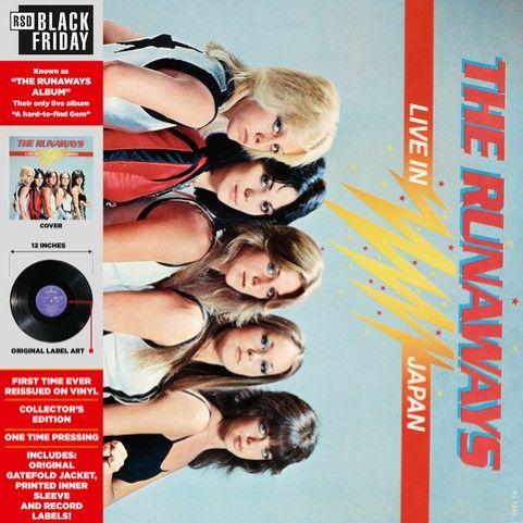 RUNAWAYS / ランナウェイズ / LIVE IN JAPAN [LP]